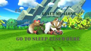 [Super Smash Bros] Largo de mi camino! Fox manda a dormir!