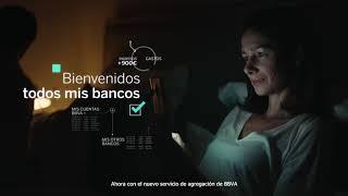 BBVA BIENVENIDOS SERVICIO DE AGREGACIÓN Mejor APP de Banca Mundial