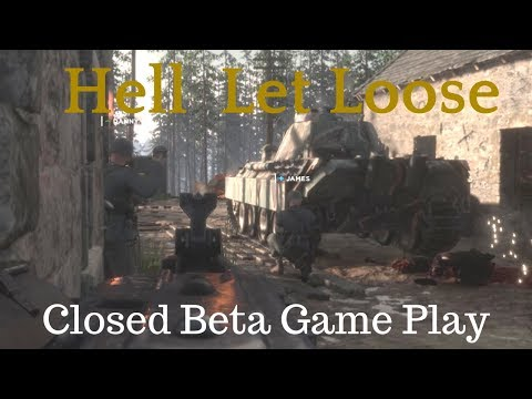 Hell Let Loose The Medic closed beta