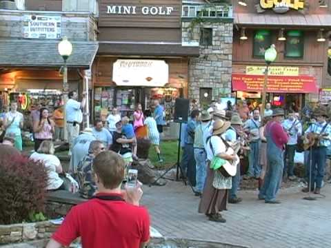 Gatlinburg Smoky Mountain Tunes and Tales Flash Mob