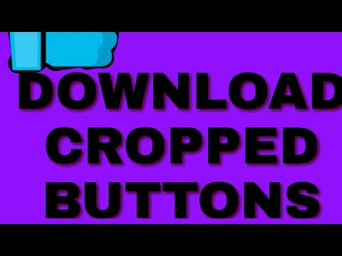Download cropped like and subscribe buttons!!
