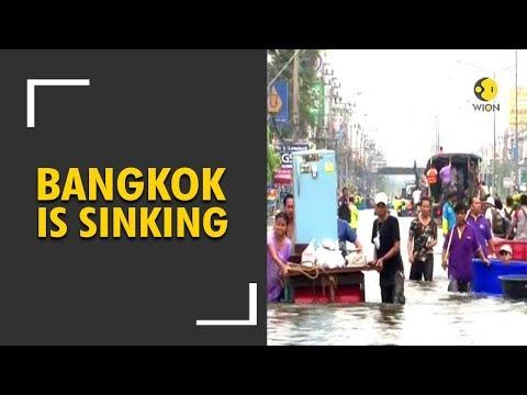 Bangkok is sinking; Rising Sea level causing flood risks