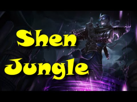League of Legends - Shen Jungle - Full Game Commentary