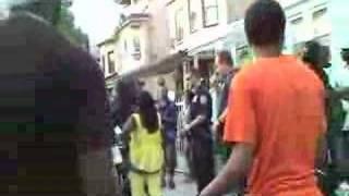 No muzik 34th Street Block party