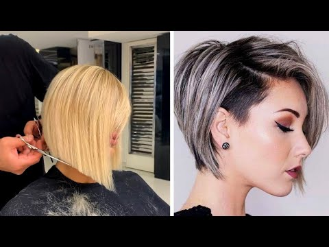Tóc Đẹp Cho Nữ 2020 - Những mẫu tóc ngắn đẹp nhất 2020 - Thợ cắt tóc tay nghề đỉnh cao #2