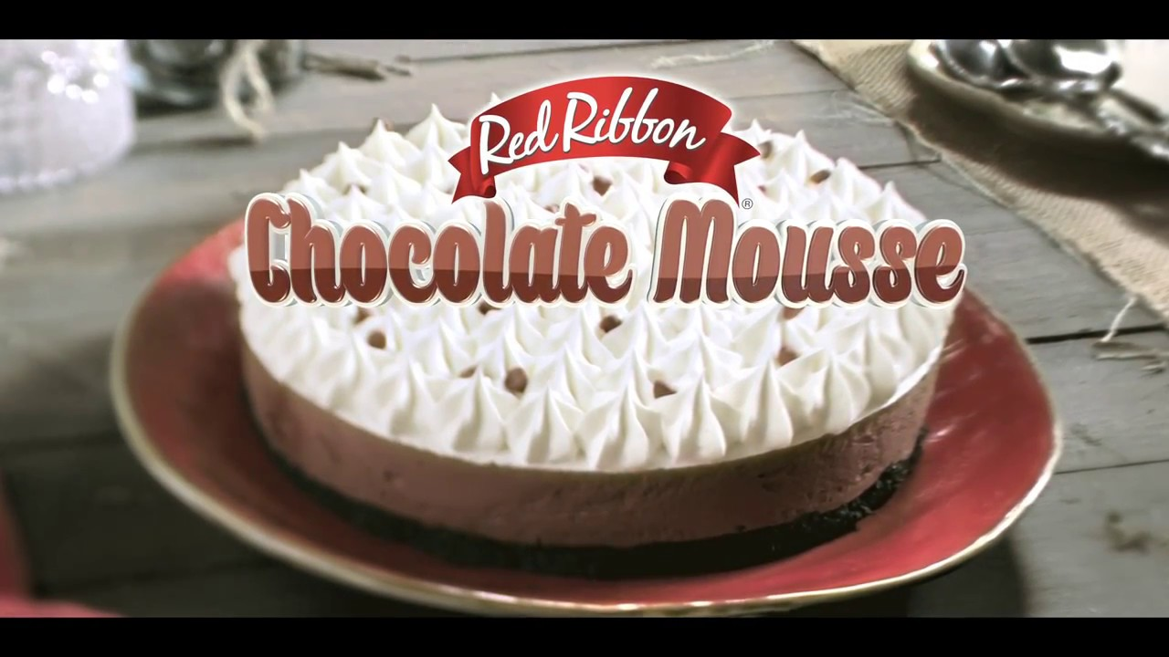 New Red Ribbon Chocolate Mousse Youtube