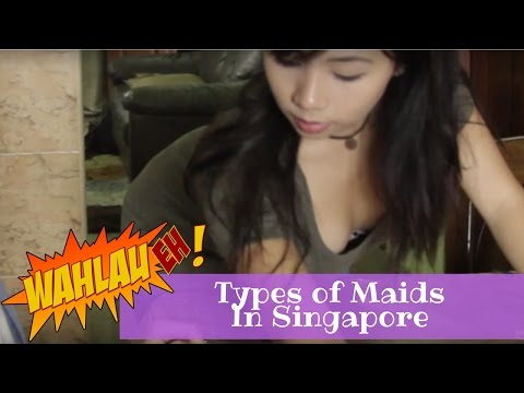 Types of Maids in Singapore | WahLau Eh! #22 | Happy TV