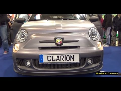 Fiat 500 Abarth Clarion Audio - 2014 Essen Motor Show