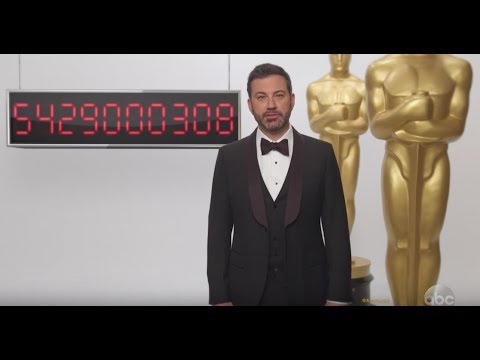 Jimmy Kimmel's Oscars Countdown