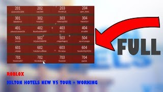 Roblox | Hilton Hotels New V5 (version five) tour + working!