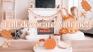 SHOP + DECORATE FOR FALL WITH ME ! 🍂✨