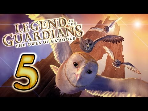 Legend of the Guardians: The Owls of Ga'Hoole Walkthrough Part 5 (PS3, X360, Wii)