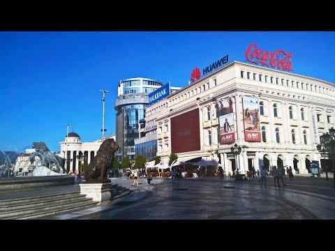 Skopje, Macedonia - Travel Highlights [4K]
