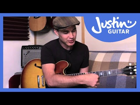 Guitar Technique: Slide Guitar Basics 1  Guitar Lesson TE80  Justin Guitar