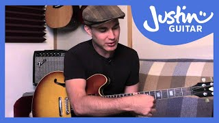 Guitar Technique: Slide Guitar Basics 1 - Guitar Lesson [TE-80] - Justin Guitar