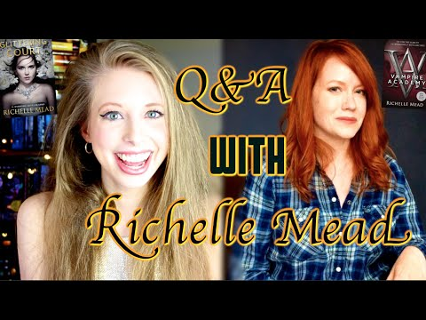 20 QUESTIONS WITH RICHELLE MEAD  NEW BOOK SERIES!