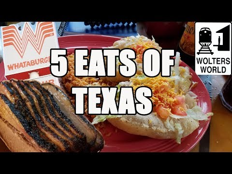 Eat Texas - 5 Foods You Have to Eat in Texas