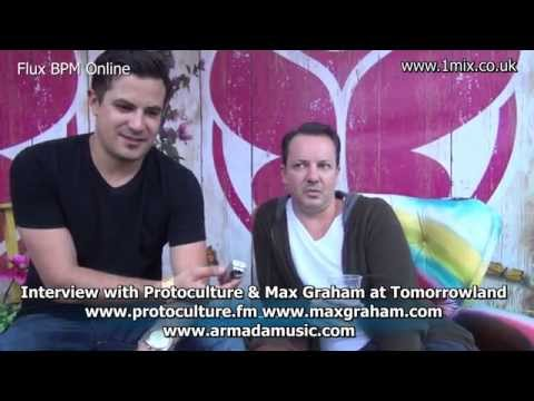 Interview with Protoculture and Max Graham at Tomorrowland