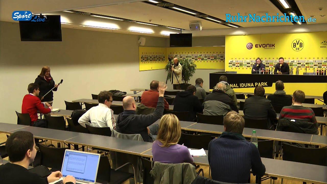 BVB Pressekonferenz vom 17. Januar 2013 zum Rückrundenstart vor dem Spiel Werder Bremen gegen Borussia Dortmund