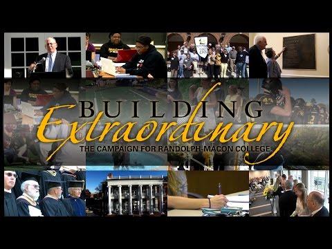 Randolph-Macon College: 2016 Building Extraordinary Campaign Celebration Gala