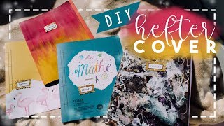 BACK TO SCHOOL: DIY Heftercover // JustSayEleanor ♡