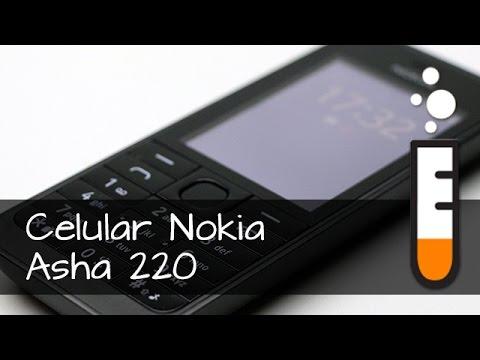Celular Nokia Asha 220 Dual chip - Vídeo Resenha Brasil