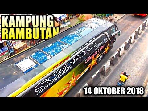 Kesibukan Terminal Bus Kampung Rambutan Sore Hari (14 Oktober 2018) Mp3