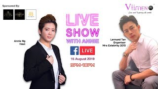第二集Live Show with Annie ~ Lennard Tan