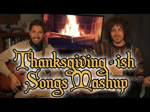 18 Thanksgivingish Songs in a Minute  One Minute Mashup #32