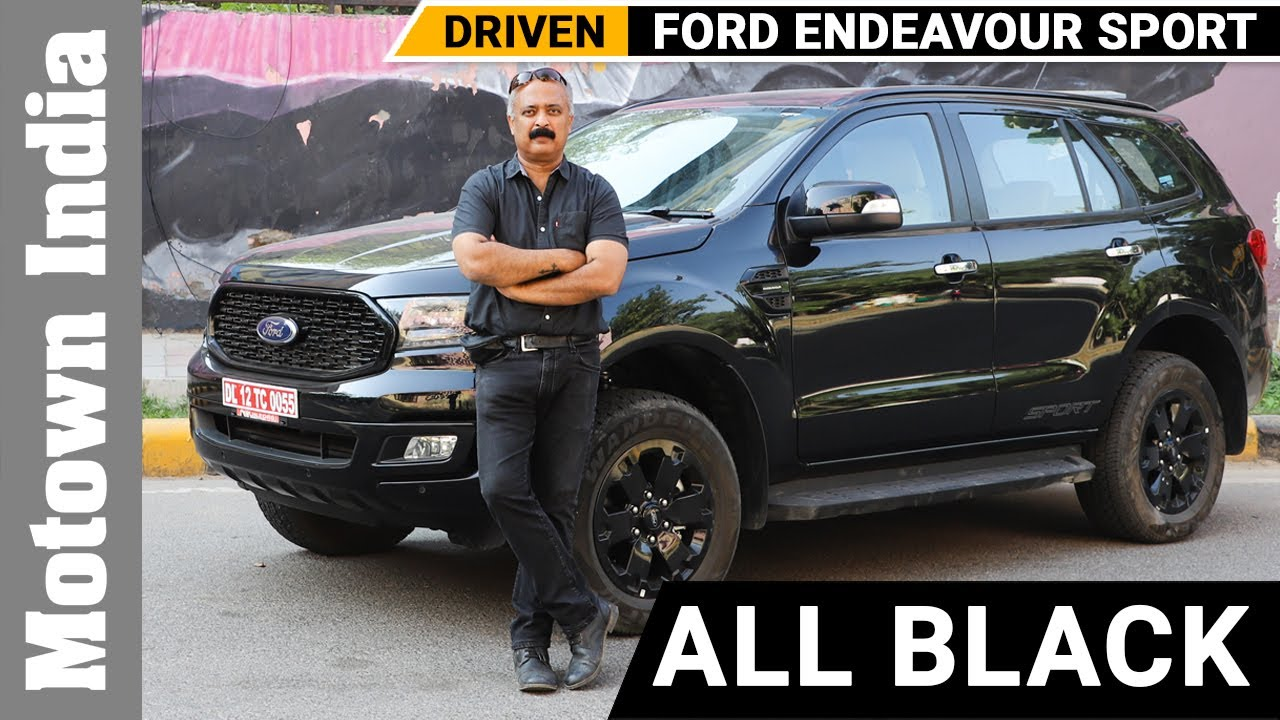 Ford Endeavour Sport SUV 4x4 | All Black | Motown India