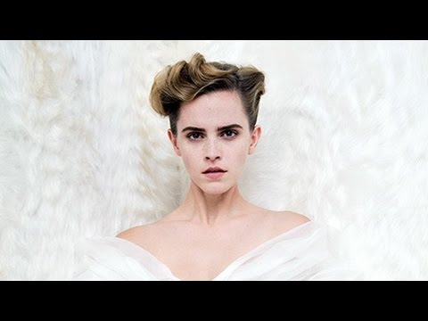 Thumbnail: Emma Watson Goes Topless For Vanity Fair & Says She's Done Taking Selfies With Fans
