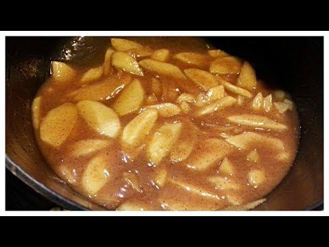 Gluten Free & Dairy Free Homemade Apple Pie Filling | How To Make Homemade Apple Pie Filling