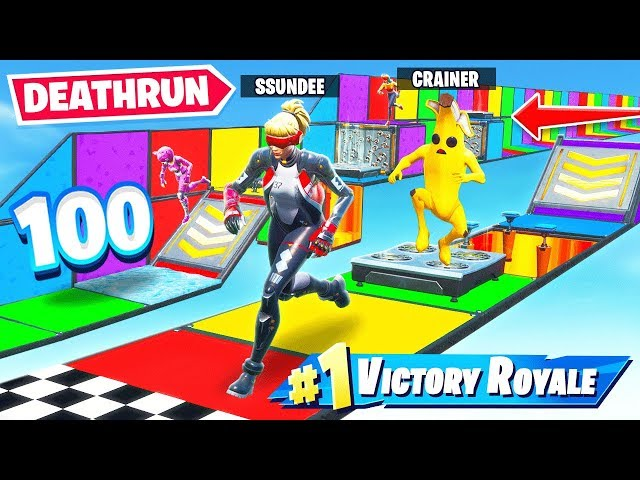 100 LEVELS OF OFFICIAL SSUNDEE DEATHRUN (Fortnite)
