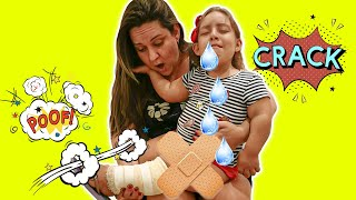 A história do BOO BOO da Maria Clara (The BOO BOO Story from MC Divertida)