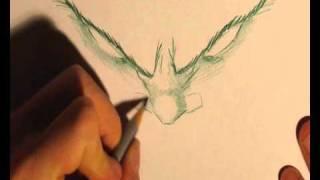 10 minute sketch: Demon