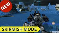 War Robots Skirmish - Arachnida - Spider bots Gameplay