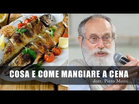 Dottor Mozzi: cosa e come mangiare a Cena