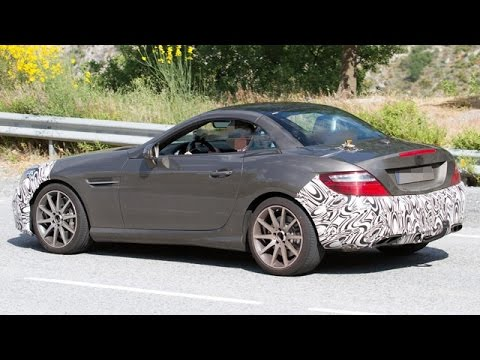 2016 Mercedes-Benz SLC 450 AMG Sport Spied First Time