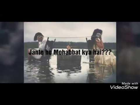 Jante ho Mohabbat kya hai??    whatsapp status    video status