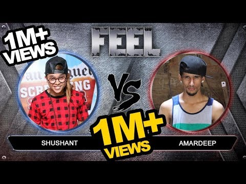 Sushant Khatri (Dance Plus 2)  vs Amardeep singh natt (Dance Plus 3) - FEEL  - Final Battle