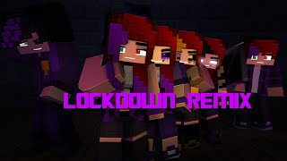 Lockdown Remix Song by SharaX Official MC FNAF Animation The Last Soul Part 5