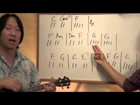 Imagine By John Lennon Part1 Ukulele Chords Lesson 52 Youtube