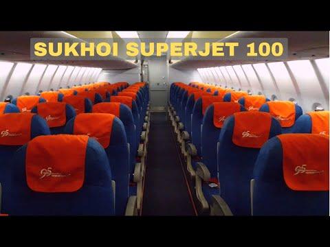 Sukhoi Superjet 100 - Аэрофлот Эконом Класс Сухой Суперджет