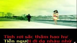 TIỄN BIỆT CUỘC TÌNH  -  Thơ : Gấm Mai  - Phổ nhạc  : Hải Anh Karaoke khong loi