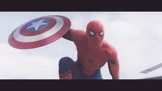Человек паук - Все бои в Аэропоте - Капитан Америка: Гражданская война [HD]