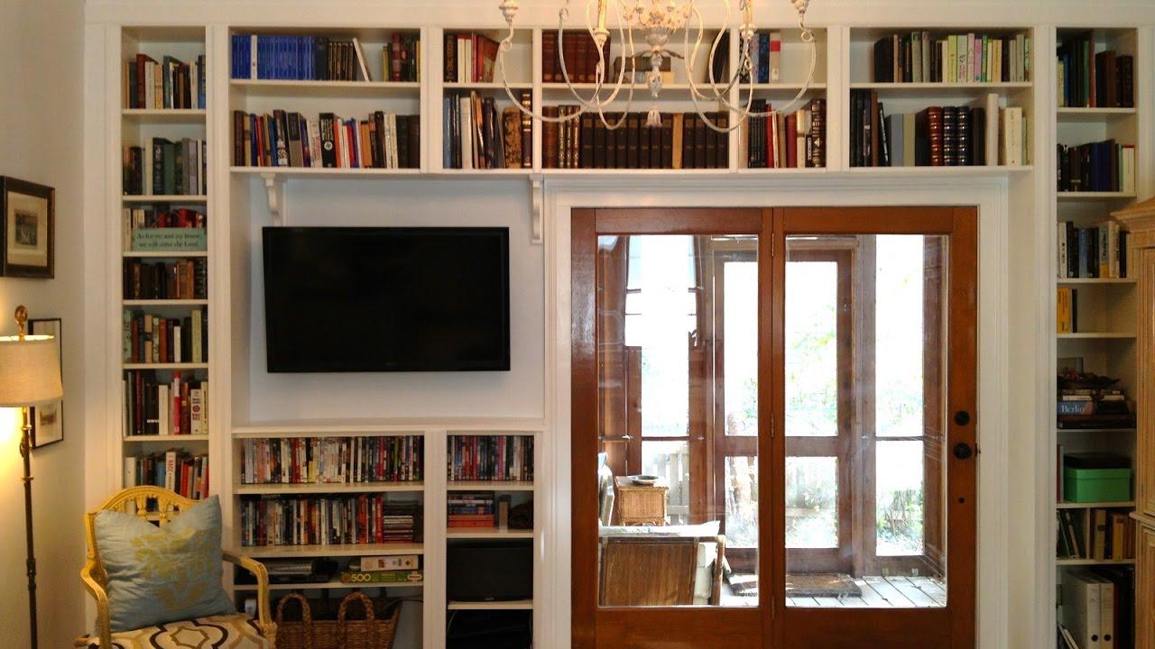 Modern Library Shelves Youtube