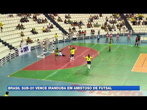 Brasil Sub-20 vence Iranduba em amistoso de futsal