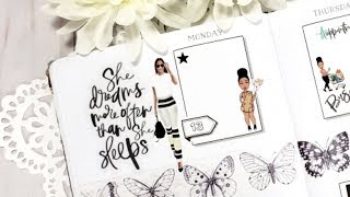 PLAN WITH ME Week 20 2019 Cahier FROM SCRATCH Planner Spread Scrapcraftastic