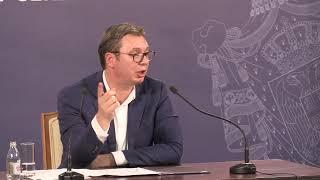 (KURIR TV UŽIVO) VANREDNO SA ANDRIĆEVOG VENCA: Predsednik Vučić se obraća javnosti
