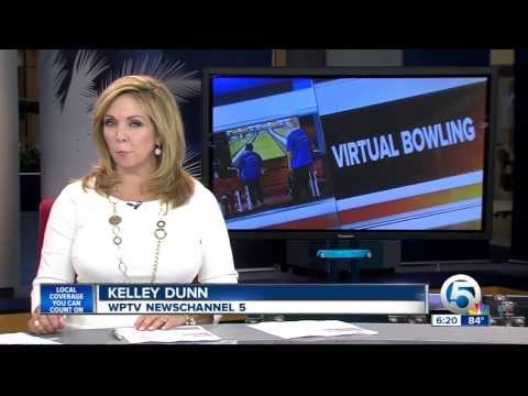 St. Andrews Estates Hit the Virtual Lanes for National Wii Bowling Day! (WPTV)